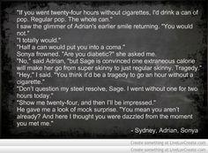Bloodlines Quotes | Sonya, Adrian & Sydney | xD <3