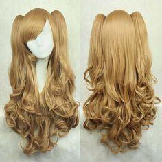 Lolita cute curly wig
