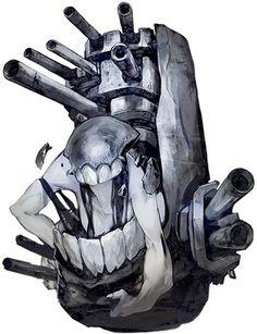 軽巡ホ級 : 【艦これ】敵だけど人気!敵艦船・イベント深海棲艦の画像一覧 - NAVER まとめ