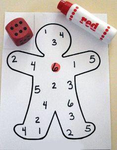 Математика с игральными костями.   Данная игра поможет закрепить знания о цифрах. Для игры Вам необходимо распечатать листы заготовки. Ещё Вам понадобится игральная кость и фломастер яркого цвета (маркер). Ребенок бросает игральные кости. Считаем сколько кружочков выпало на кубике, маркером отмечаем выпавшую цифру. Данные задания позволяют в игровой форме развивать внимание и память.