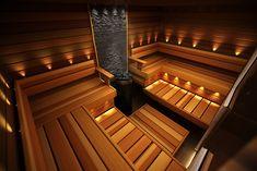Sauna Design, Shed Design, House Design, Design Design, Sauna House, Sauna Room, Saunas, Bathroom Lighting Inspiration, Sauna Lights