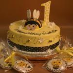 Bumblebee Birthday Cake
