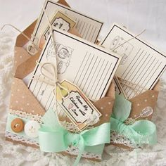 I love the idea of dressing up the envelope, especially for a wedding/birthday card that will be hand-delivered!