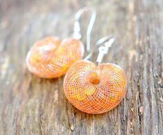 Baltic amber earrings / silver amber earrings / amber silver