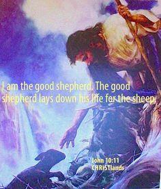 I am the good #shepherd.