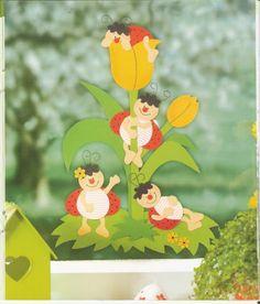 Fortélyok 110. - Tavaszi és húsvéti papírdíszek - Comatus Coprinus - Λευκώματα Iστού Picasa