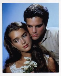 Brooke Shields and Martin Hewitt by George Hurrell, 1981.