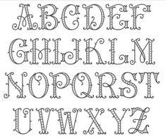 Tattoo Lettering Fonts, Hand Lettering Alphabet, Doodle Lettering, Monogram Alphabet, Creative Lettering, Lettering Styles, Typography Letters, Lettering Design, Tattoo Writing Fonts