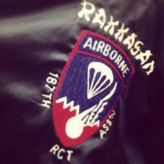 Rakkasan Airborne Jackets. @hstreet_industries