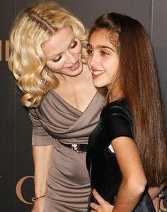 lourdes leon child | Madonna with her daughter, Lourdes Maria Ciccone Leon.