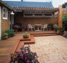 """  <p>See our guide to <a href=""""http://www.sunset.com/home/outdoor-living/how-to-build-a-deck-00400000062584/"""" target=""""_blank"""">building a wrap-around deck</a></p>  <p> </p>  <p>A good deck can capture a view, create a comfortable outdoor room, and add a feeling of spaciousness to your home by blurring the boundaries between inside and out.</p>  <p> </p>  <p>deck"""