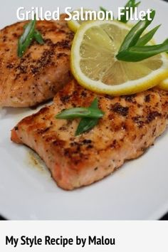 Grilled Salmon Fillet Recipe on Yummly. @yummly #recipe