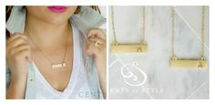 $9.99 Gold Bar Necklaces | Sassy Steals