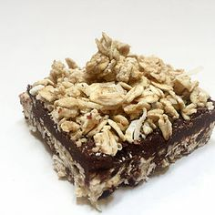 Healthy Role Models recipe for No-Bake Peanut Butter Fudge Oat Protein Bars Chocolate Squares, Peanut Butter Fudge, Protein Bars, Fudge Bar, Clean Eating, Nutrition, Baking, Healthy, Role Models