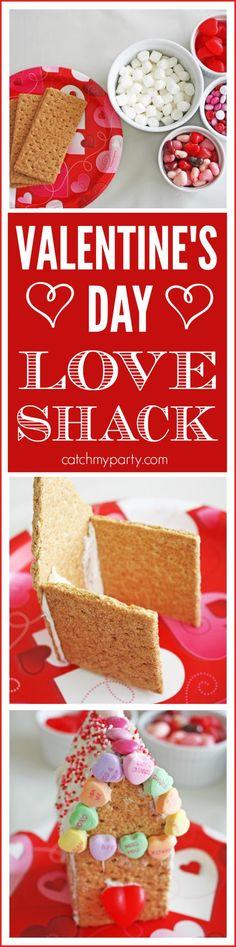 Valentine's Day Love Shack DIY | CatchMyParty.com