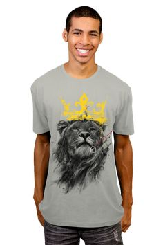No King T-shirt by kdeuce from Design By Humans (men and women's t-shirt, art print, phone case)