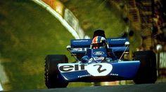 François Cevert - Tyrrell 002 Ford Cosworth DFV - Elf Team Tyrrell - XXV British Grand Prix (Brands Hatch) - 1972 World Championship for Drivers, round 7 F1 Wallpaper Hd, Jochen Rindt, Gilles Villeneuve, British Grand Prix, Formula 1 Car, Vintage Race Car, Racing Team, Auto Racing, Indy Cars