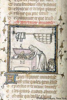 Roman de la Rose, MS M.132 fol. 2v - Images from Medieval and Renaissance Manuscripts - The Morgan Library & Museum