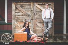 Engagement photography | Amelia Soper Wedding Photographer, couple, outdoor, rustic, issaquah, train depot