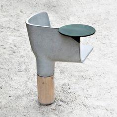 Concrete seat - Mathieu Lehanneur - JC DECAUX