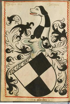 Wappen des Grafen von Zolleren   Coat of Arms of The Counts von Zolleren