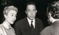 Francine Faure and Albert Camus