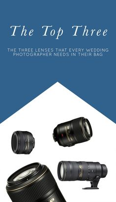 Three Lenses Every Wedding Photographer Needs | Natalie Franke (scheduled via http://www.tailwindapp.com?utm_source=pinterest&utm_medium=twpin)