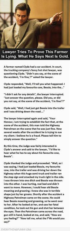 SLAYYY Mr. Farmer!!! (I work in a law firm but I dislike lawyers like this)