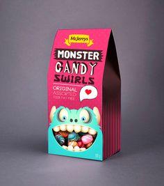Monster Candy Swirls packaging.