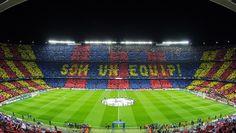 The biggest football stadium in Europe