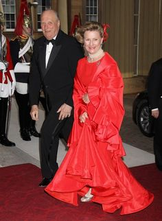 Norway's King Harald and Queen Sonja  Picture: GETTY