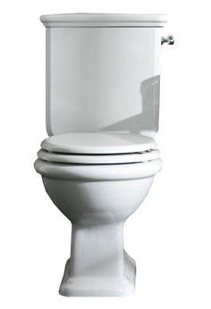 Das nostalgische Monoblock Stand-WC ist mit einem waagrechten oder senkrechten Abgang erhältlich. Der seitliche Hebel-Spülmechanismus ist wahlweise in den Oberflächen Chrom, Bronze oder Gold erhältlich. Der WC Sitz ist nicht im Lieferumfang enthalten und kann separat bestellt werden. Stand Wc, Wc Sitz, Retro, Toilet, Bronze, Gold, Bathroom, Shop, Style