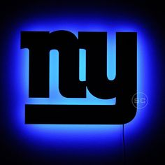 Lighted New York Giants Sign  Football Theme by SignsChromatic