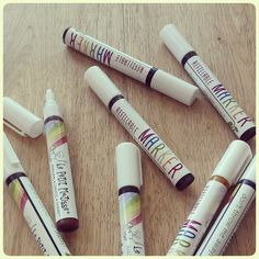 Refillable Markers REFILL INK Nontoxic Natural by LePetitMatisse