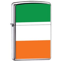 Zippo Lighter - Ireland Irish Flag ZCI007984  $22.45  Free Shipping. No Minimum. 24/7  PROMO: ZIPPO2013 - 3% off all Zippo Products  #zippo #irish