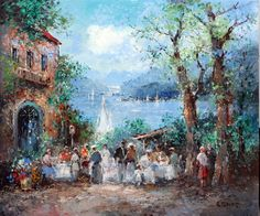 NEW IMPRESSIONALIST ARTISTS | ... Impressionist (Willi Bauer) -IMPRESSES US with his new paintings