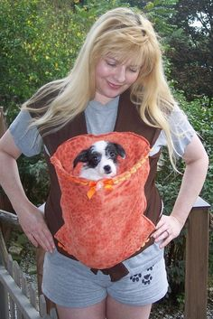 Sewing Pattern--------- Heart to Heart hands free comfort dog carrier