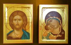 The icon painters of St Elisabeth Convent will paint a family icon of any kind. You can order an Orthodox family icon online from the Catalog of St Elisabeth Convent Wedding Icon, Wedding Sets, Orthodox Icons, Virgin Mary, The Guardian, Holy Spirit, Icon Set, Jesus Christ