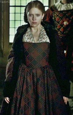 Tudor Costume from The Other Boleyn Girl