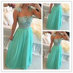 Prom Dress, New Arrival Prom Dress, Green Prom