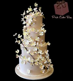 Spring Themed Wedding Cakes » Pink Cake Box Wedding Cakes & more