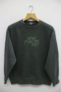 Vintage NIKE AIR sudadera suéter por VintageClothingMall en Etsy Cazadoras 2df5182048ba