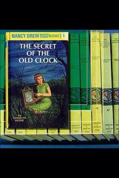 70's was . . . Nancy drew mystery books