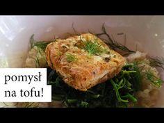 Pyszne CHRUPIĄCE TOFU ze szpinakiem! Prosty przepis   WegeTuba - YouTube Tofu, Turkey, Vegan, Chicken, Youtube, Turkey Country, Vegans, Youtubers, Youtube Movies