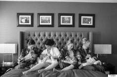 Breastfeeding Bridal Party Shares Special Bond And Gorgeous Photo