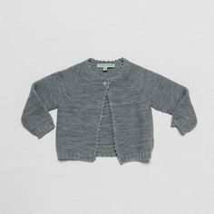 Anthracite Cardigan | Grace Baby and Child at @Kide