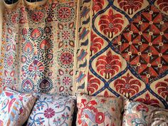 bohemian textiles | textiles and rugs #SilkRoute