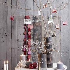 Christmas Decoration Ideas, Nordic Design Inspirations for Eco Friendly Christmas Decor Best Christmas Tree Decorations, Scandinavian Christmas Decorations, Cool Christmas Trees, Nordic Christmas, Noel Christmas, Modern Christmas, Christmas Themes, Christmas Crafts, Christmas Ornaments