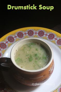 Healthy and nutritious drumstick soup which taste so delicious. It is rich in iron and is full of health benefits. This soup taste amazing with some toasted bread. Healthy Soup Recipes, Raw Food Recipes, Indian Food Recipes, Vegetarian Recipes, Cooking Recipes, Paneer Recipes, Indian Snacks, Cooking Tips, Indian Soup