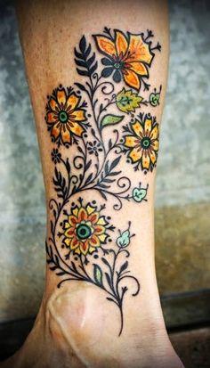 New Celtic Fresh Water Flower Tattoo, Flower of Celtic Tattoo Designs, Designs of Celtic Flowers Tattoos